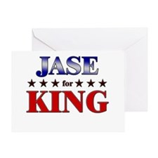JASE for king Greeting Card