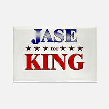 JASE for king Rectangle Magnet