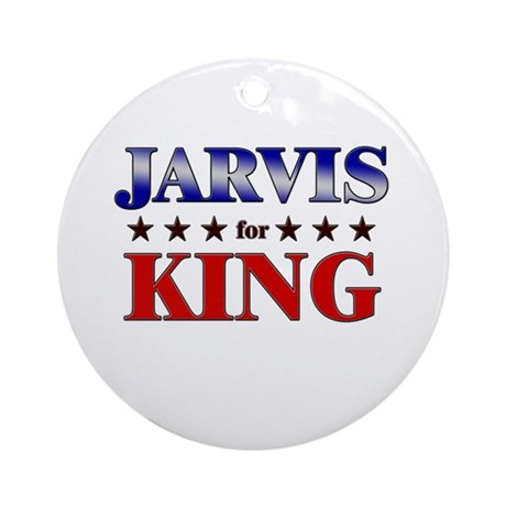 JARVIS for king Ornament (Round)