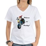Driven to Purity Women's V-Neck T-Shirt