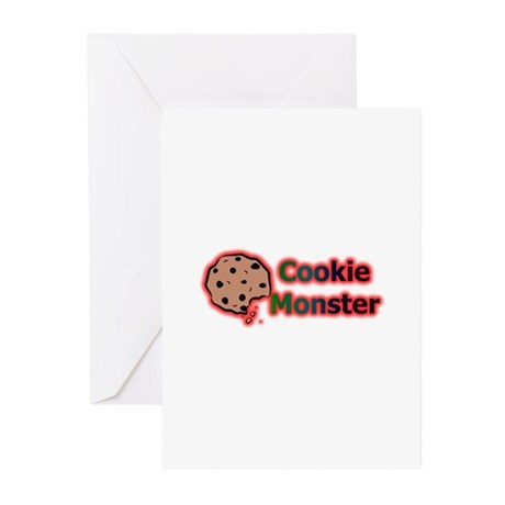 MoNsTeR Greeting Cards (Pk of 10)