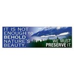 Preserve Nature's Beauty