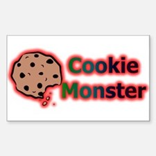 MoNsTeR Rectangle Decal