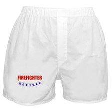Retired Firefighter Boxer Shorts