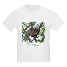 Sleepy Raccoon T-Shirt