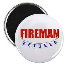 """Retired Fireman 2.25"""" Magnet (100 pack)"""