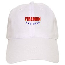 Retired Fireman Baseball Cap