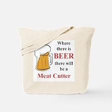 Meat Cutter Tote Bag