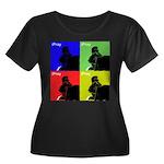 iPray Quad Women's Plus Size Scoop Neck Dark T-Shi