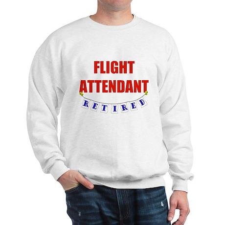 Retired Flight Attendant Sweatshirt