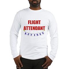 Retired Flight Attendant Long Sleeve T-Shirt