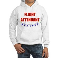 Retired Flight Attendant Hoodie