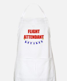 Retired Flight Attendant BBQ Apron