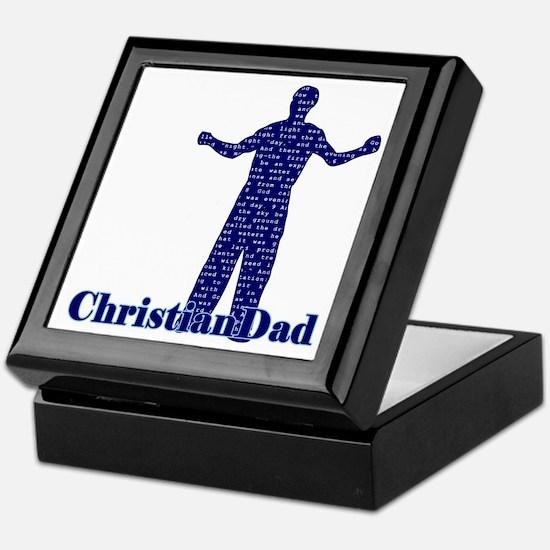 Christian Dad Father's Day Keepsake Box