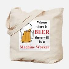 Machine Worker Tote Bag