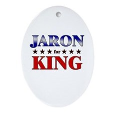 JARON for king Oval Ornament