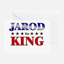 JAROD for king Greeting Card
