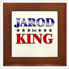 JAROD for king Framed Tile