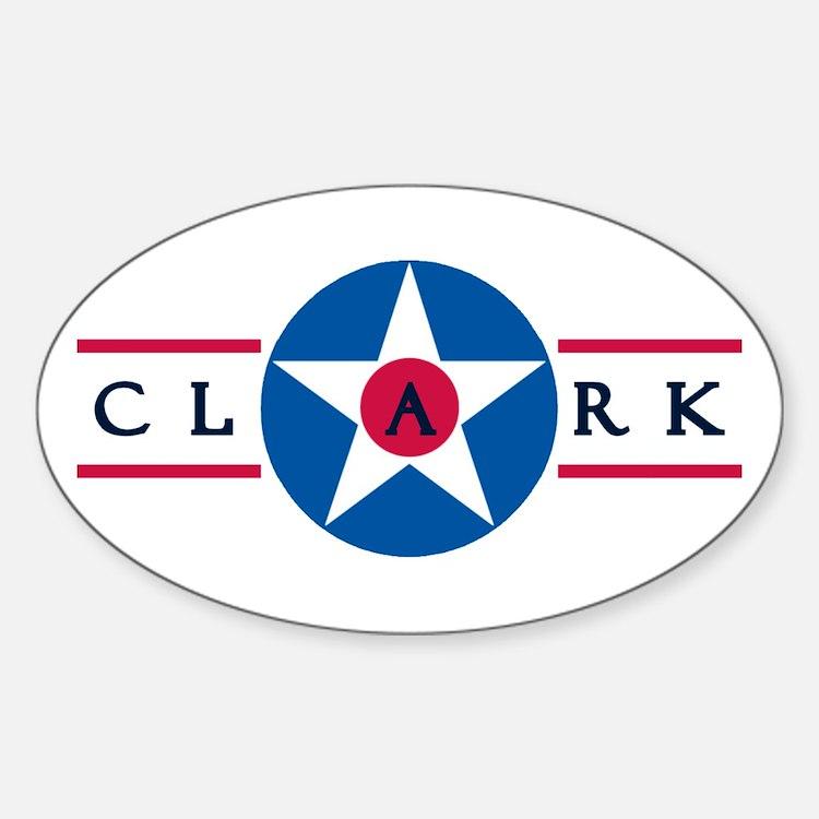 Clark Air Base Oval Decal