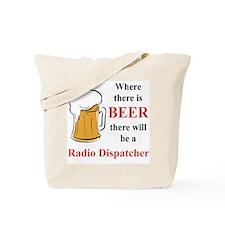 Radio Dispatcher Tote Bag
