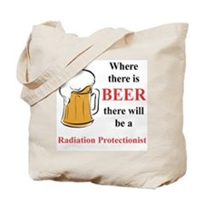Radiation Protectionist Tote Bag