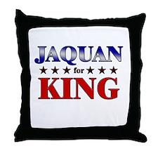 JAQUAN for king Throw Pillow