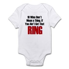 18 Wins...No Ring Infant Bodysuit