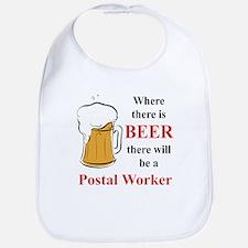Postal Worker Bib