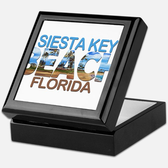 Summer siesta key- florida Keepsake Box