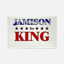 JAMISON for king Rectangle Magnet