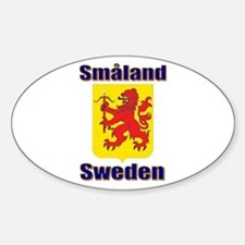 The Småland Store Oval Stickers
