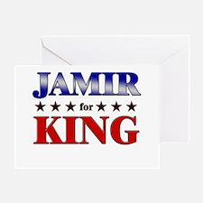 JAMIR for king Greeting Card