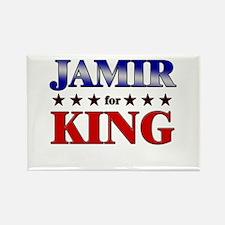 JAMIR for king Rectangle Magnet