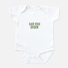Raw Food Queen Infant Bodysuit