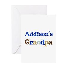 Addison's Grandpa Greeting Card