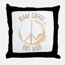 Make Coffee Throw Pillow