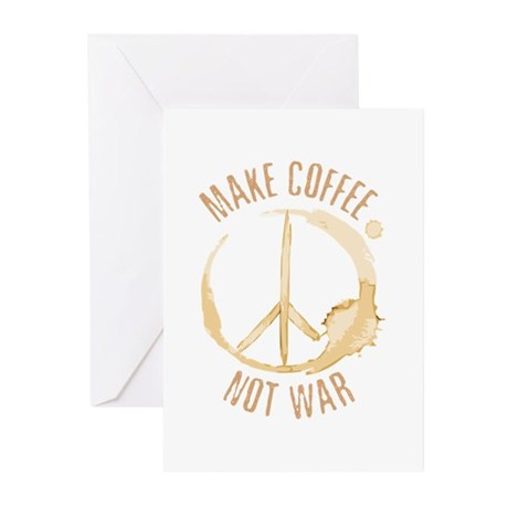 Make Coffee Greeting Cards (Pk of 10)