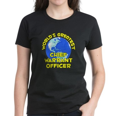 World's Greatest Chief.. (D) Women's Dark T-Shirt