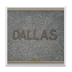 Dallas Tile Coaster