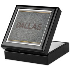 Dallas Keepsake Box