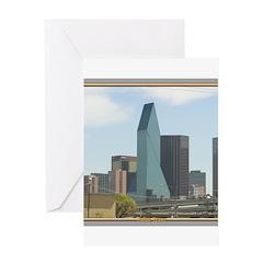 Dallas Skyline #1 Greeting Card
