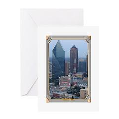 Dallas Skyline #3 Greeting Card
