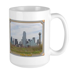 Dallas Skyline #4 Mug