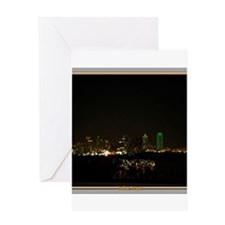 Dallas Skyline #5 Greeting Card