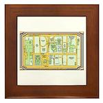 The Arts District Framed Tile