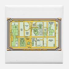 The Arts District Tile Coaster