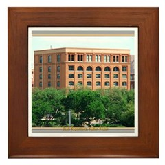 Book Depository #1 Framed Tile