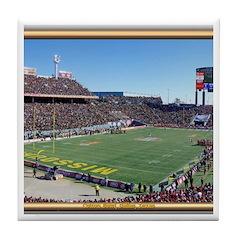 Cotton Bowl #2 Tile Coaster