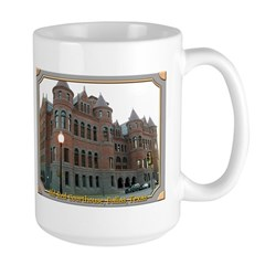 Old Red Courthouse Large Mug