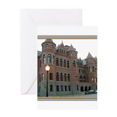 Old Red Courthouse Greeting Card